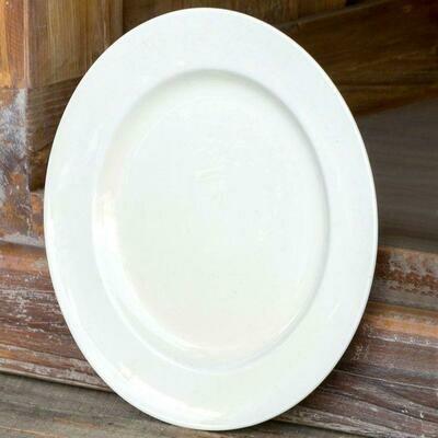 Creamware Dinner Plate