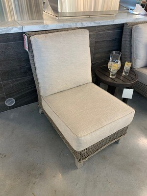 Geneva Driftwood Center Chair w/Grade C Cushion