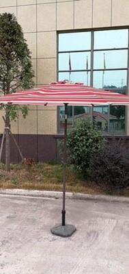 Steel 8' Poly No-Tilt Umbrella 140G (UMBRELLA STAND NOT INCLUDED)