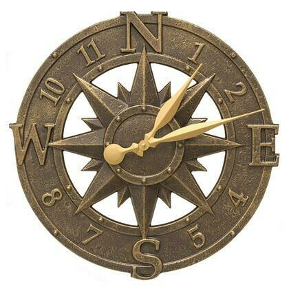 Compass Rose French Bronze 16