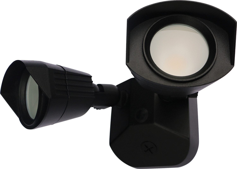 Bronze LED 20W 3k Dual Head Security Light