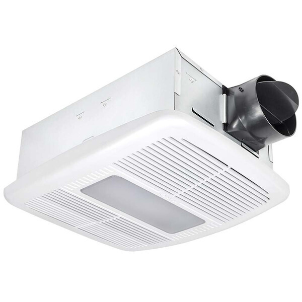 Radiance Fan / LED Light w/Heater 80CFM