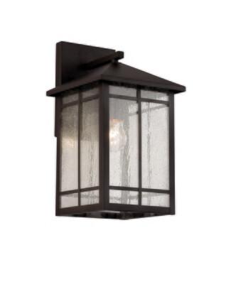 Capistrano Rub Oil Bronze 1 Lt Medium Exterior Wall Lantern (DISPLAY ONLY)