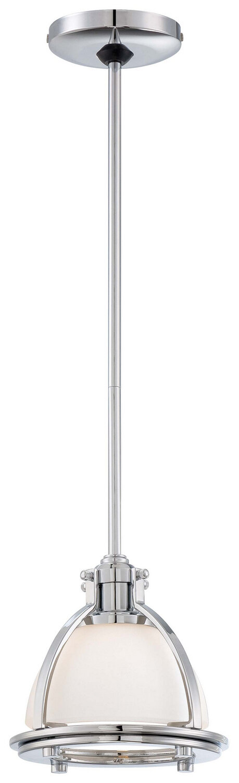 Chrome 1 Lt Mini Pendant