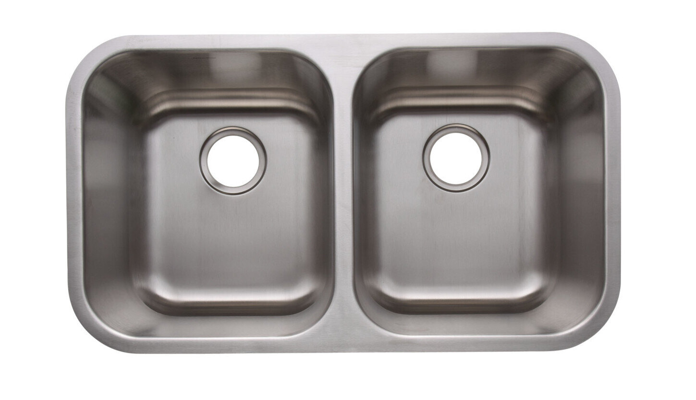 Deluxe 18 Gauge 304 Stainless Steel Undermount Sink (DISPLAY ONLY)