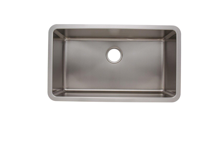 Trend 18 Gauge 304 Stainless Steel Single Undermount Sink