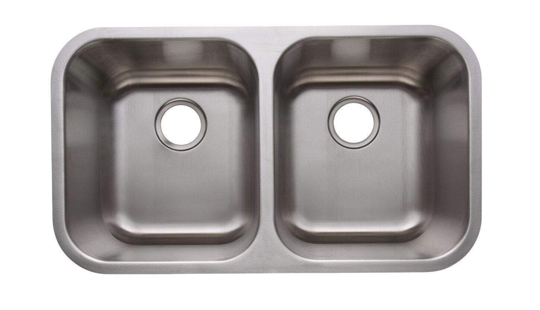 Heritage 16 Gauge 304 Stainless Steel Undermount Sink (DISPLAY ONLY)