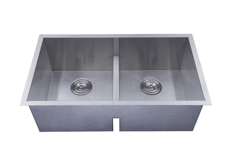 Legend 18 Gauge 304 Stainless Steel Undermount Sink