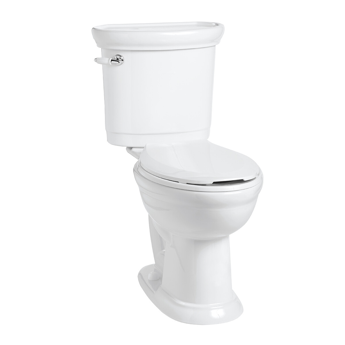 Waverly Elongated Smart Height Complete Toilet Kit