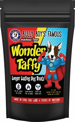 9 Bags (1 Case) Wonder Taffy - Longer Lasting Dog Treats