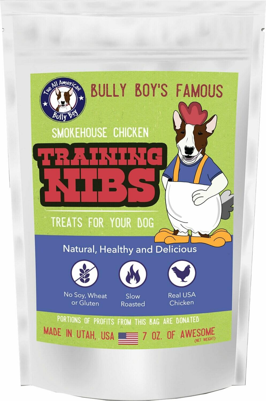 Chicken Jerky Nibs For Dog Training - 7 OZ. Bag