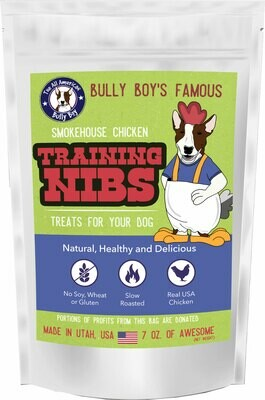 Chicken Jerky Nibs For Dog Training - 7 OZ. Bag