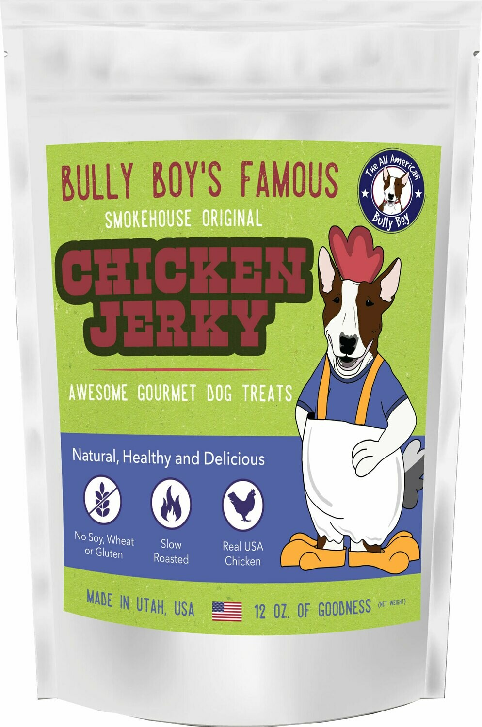 Chicken Jerky Sticks for Dogs - 4 Sizes Available - Starting at: