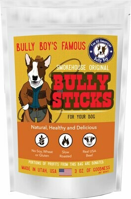 Bully Sticks - 3 Sizes Available - Starting at: