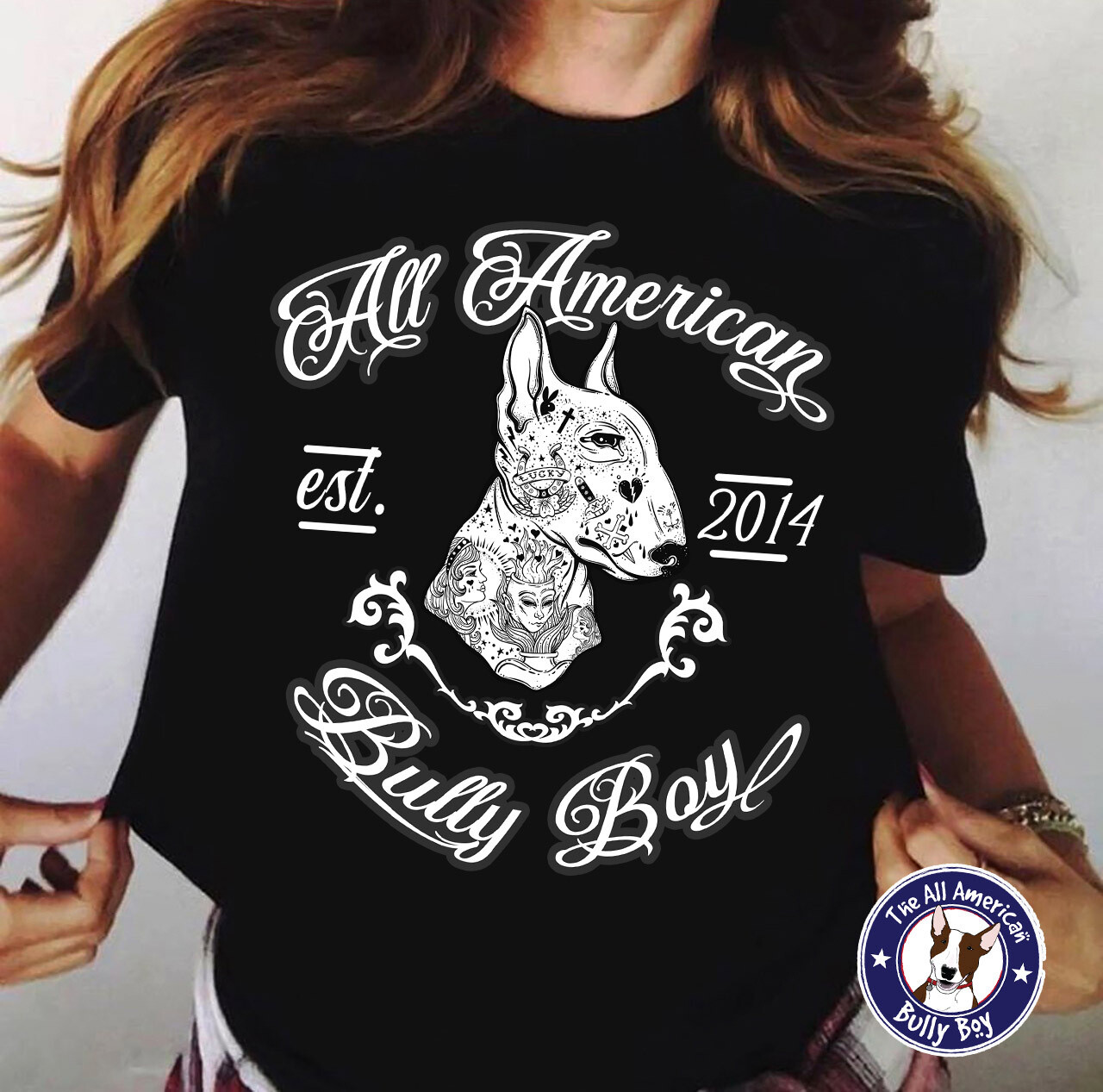 Bully Boy Tattoo - Tee Shirt - Free Shipping