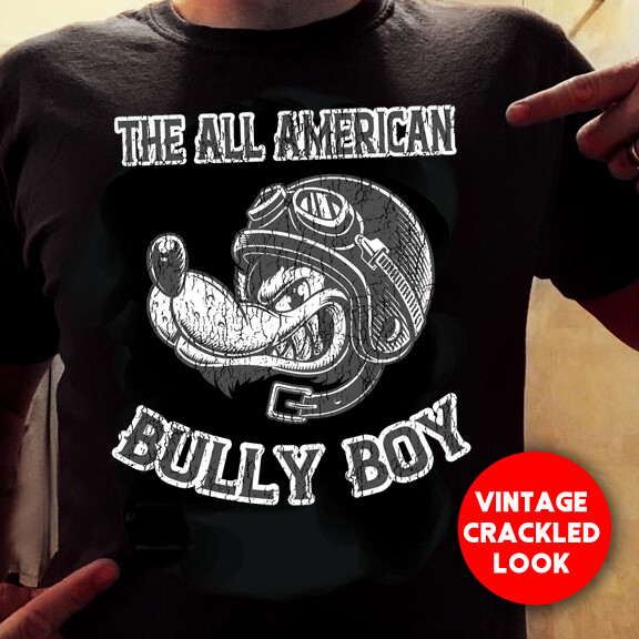 Vintage Bully Boy - Tee Shirt - Free Shipping