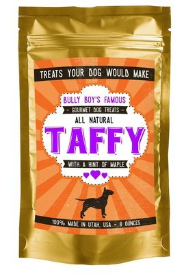 9 Bags (1 Case) Bully Taffy - Hint of Maple - 8 oz.
