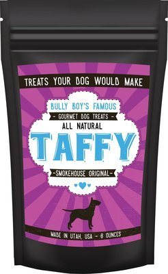9 Bags (1 Case) of Bully Taffy - 8 OZ Bags