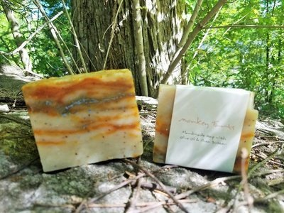 Monkey Farts Bar soap