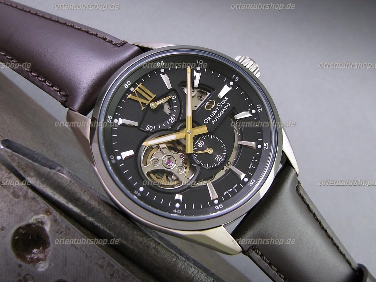 Orient Star Open-Heart Automatik Uhr RE-AV0115B00B