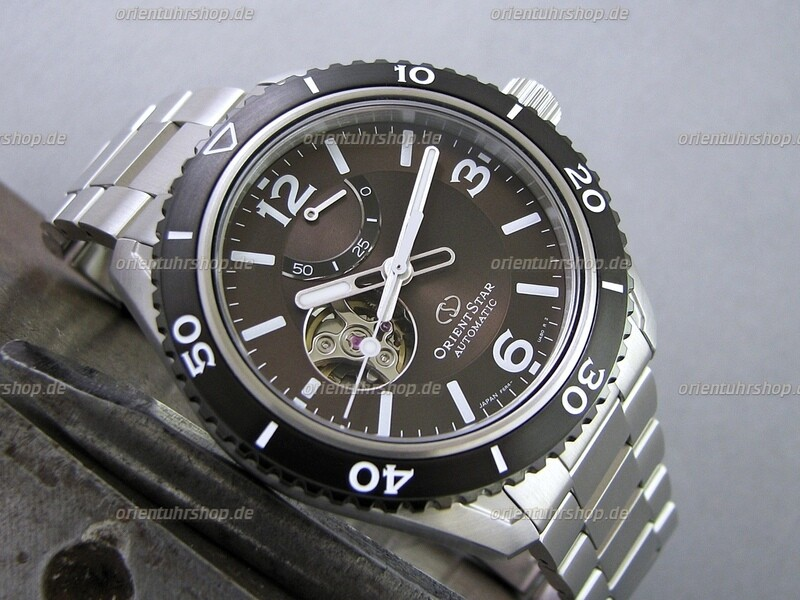 Orient Star Open Heart Automatik Uhr RE-AT0102Y00B