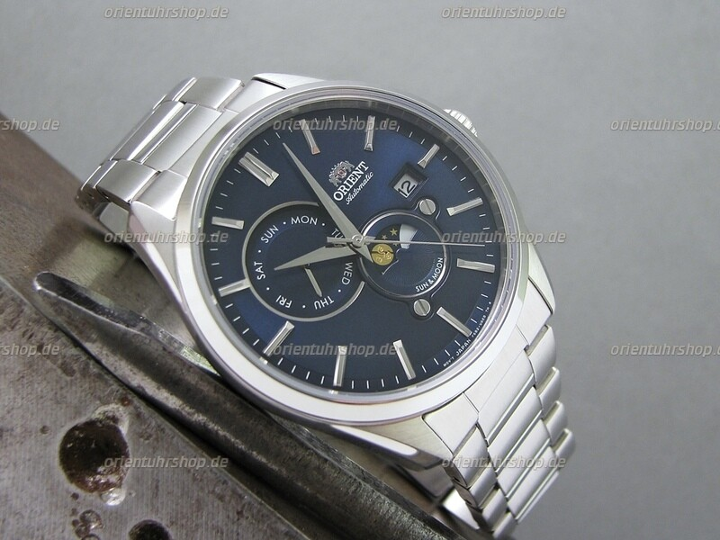 Orient Sun&Moon Automatik Armbanduhr RA-AK0303L10B