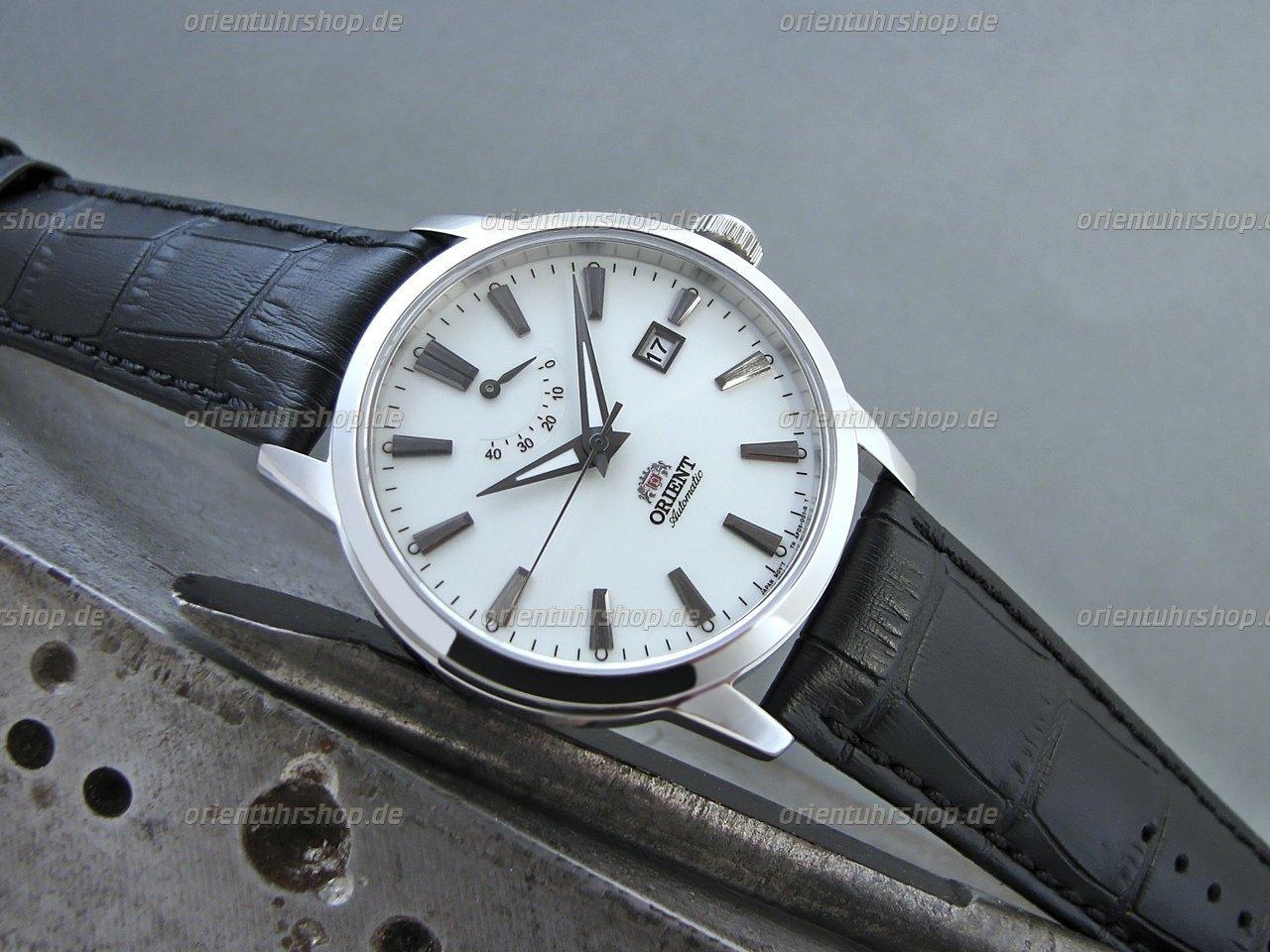 Orient Curator Automatik Edelstahl Armbanduhr FAF05004W0