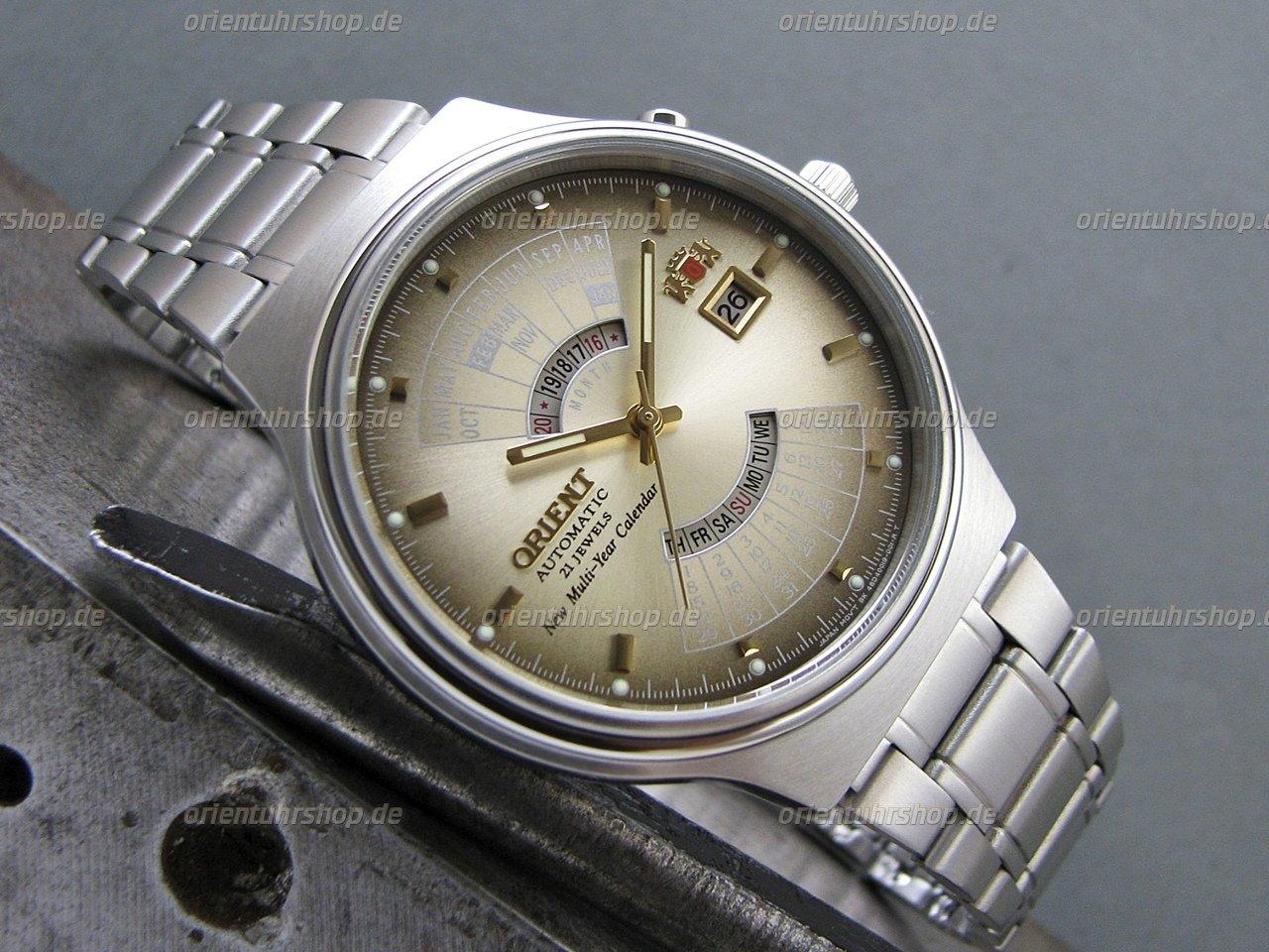 Orient Multi-Year Calendar Automatik Armbanduhr FEU00002UW