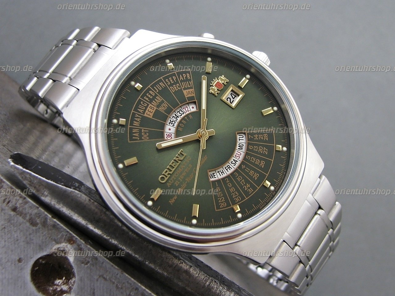 Orient Multi-Year Calendar Automatik Armbanduhr FEU00002FW