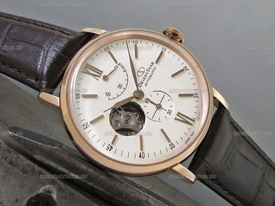 Orient Star Open Heart Automatik Herrenuhr RE-AV0001S00B