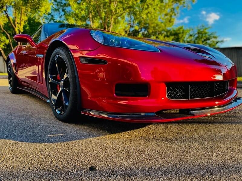 C6 Corvette Base Body ZR1-Style Aero System
