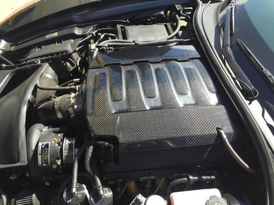 Stingray Engine Cover (3 Piece), Carbon Fiber