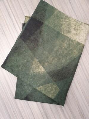 Groen mix sjaal
