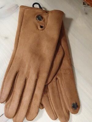 Handschoen bruin