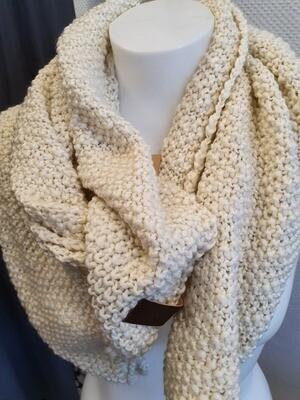 Crème Sjaal