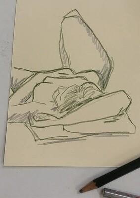 Life Drawing: Saturday Workshop  3rd October 2020