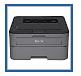 Brother HL-L2395DW Wireless Laser Monochrome Printer