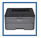 Brother HL-L2395DW Wireless Laser Monochrome Printer