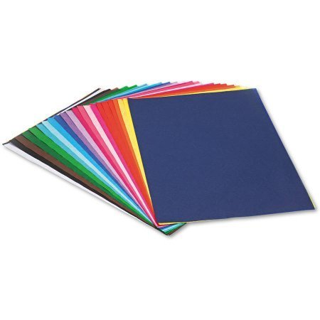 """Pacon Spectra Assorted Color Tissue Pack, 12"""" x 18"""", 25 Colors, Pack Of 100 Sheets"""