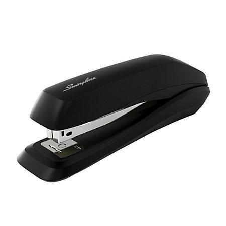 Swingline 545 Antimicrobial Standard Desk Stapler, Black