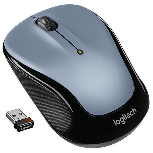 Logitech M325 Wireless Mouse, Silver