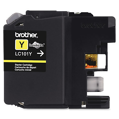 Brother® LC101-Y Yellow Ink Cartridge
