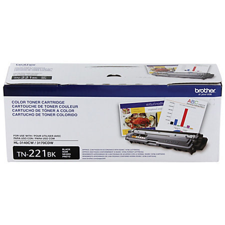 Brother® TN-221BK Black Toner Cartridge