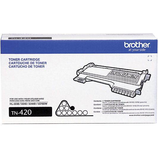 Brother® TN-420 Black Toner Cartridge