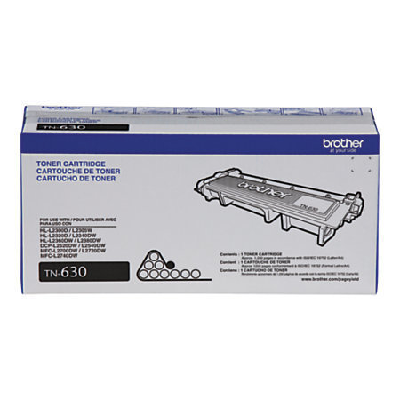 Brother TN-630 Black Toner Cartridge