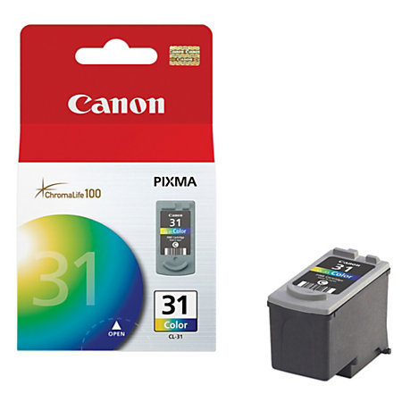 Canon CL-31 Tricolor Ink Cartridge (1900B002)