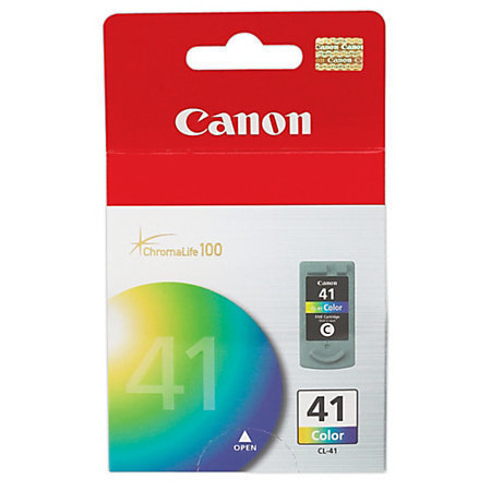 Canon CL-41 ChromaLife 100 Tricolor Ink Cartridge (0617B002AA)