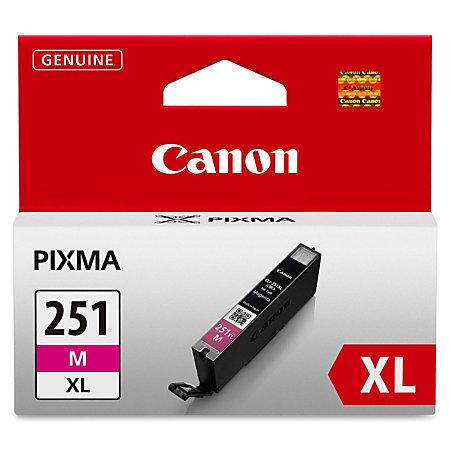 Canon CLI-251XL High-Yield Magenta Ink Tank (CLI-251M XL)