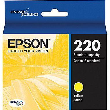Epson® DuraBrite® Ultra Ink Cartridge, Yellow, T220420-S