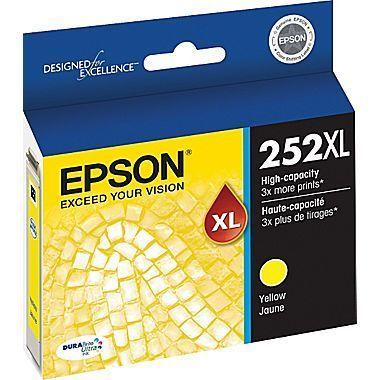 Epson® DuraBrite® Ultra T252XL420-S High-Yield Yellow Ink Cartridge